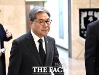 [TF포토] 고 김우중 회장 조문하는 이재정 교육감