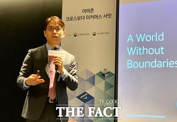 이성한 한국 아마존 글로벌 셀링 대표는 2020 해외진출 계획의 일환으로 한국만의 카테고리 강화에 집중하겠다고 밝혔다. /이민주 기자
