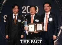 [TF포토] 제 20대 국회 의정대상 수상자 이진복 의원