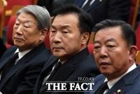 [TF포토] 고 김우중 전 회장 영결식 참석한 손학규 대표
