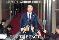 [TF포토] 심재철 자유한국당 원내대표 불참으로 '원내대표 회동 무산'