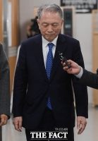 [TF포토] 석방 후 재판 출석하는 김기춘 전 비서실장