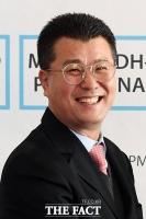 [TF포토] 미소짓는 정삼승 DH 회장