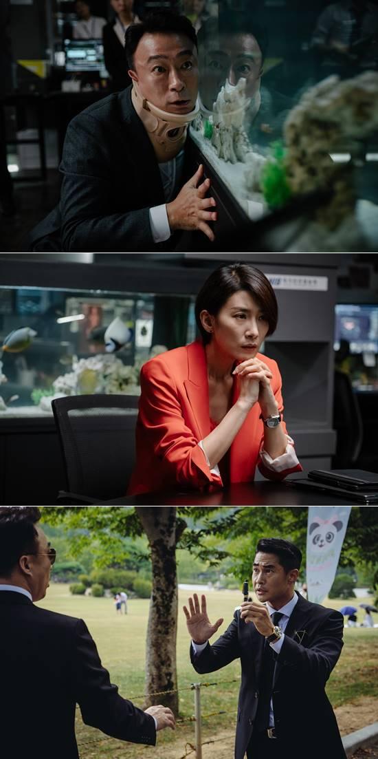 영화 미스터 주에는 김서형, 배정남 등도 출연한다. /메가박스중앙(주)플러스엠 제공