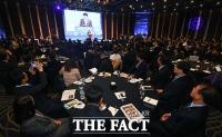 [TF포토] '오픈뱅킹 개막식에 쏠린 많은 관심'
