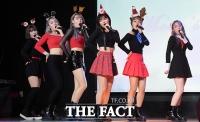 [TF포토] '신인 아이돌' 달빛소녀, '상큼한 크리스마스 요정들'
