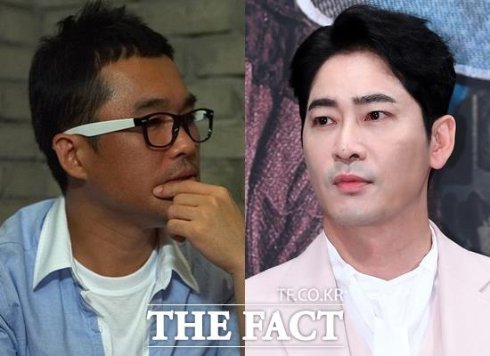 가수 김건모(왼쪽)의 성폭행 의혹 및 폭행논란은 폭로 당사자가 강용석 변호사라는 사실만으로 더 뜨거운 관심을 받았다. 강지환(오른쪽)은 준강간 혐의로 자택에서 긴급체포됐다. /더팩트 DB