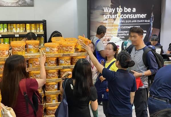 이마트가 필리핀 노브랜드 매장을 확대하는 이유는 1호점이 시장에 성공적으로 안착했기 때문이다. 사진은 노브랜드 필리핀 1호점. /이마트 제공