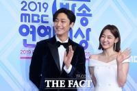 [TF포토] 이도현-미나, '블랙&화이트 커플'