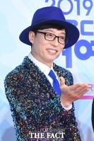 [TF포토] 유재석, '반짝이로 돌아온 유산슬'