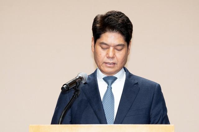 허민회 CJ ENM 대표가 프로듀스 조작 사태에 대해 공식 사과했다. /CJ ENM 제공