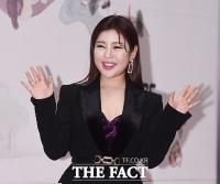 [TF포토] 송가인, 'MBC 연기대상 축하공연 왔어요~'