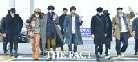 [TF사진관] 방탄소년단, '뉴욕 타임스퀘어 접수하러 갑니다~'