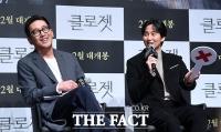 [TF포토] 하정우-김남길, '대세 배우들의 환한 미소'