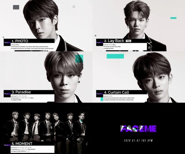 베리베리는 7일 오후 6시 세 번째 미니앨범 Face Me(페이스 미)을 발표한다. /젤리피쉬엔터 제공