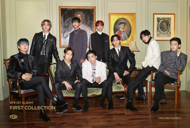 SF9은 오는 7일 오후 6시 정규 1집 First Collection(퍼스트 컬렉션)을 발표한다. /FNC엔터 제공