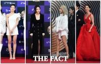 [TF포토] 골든디스크 ★들의 '레드카펫 드레스 열전'