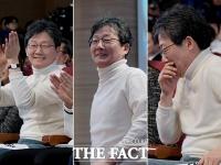 [TF사진관] '새로운보수당' 중앙당 창당대회, 웃음 짓는 유승민