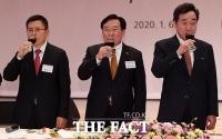 [TF사진관] 황교안-이낙연, '미묘한 신경전'