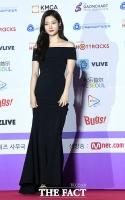 [TF포토] 정채연, '매혹적인 드레스 자태'