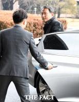 [TF포토] 법무부 도착한 이창재 검찰인사위원회 위원장