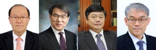 (왼쪽부터) 권기훈, 노태악, 윤준, 천대엽. /사진=대법원 제공