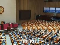 새해 첫 본회의, '한국당 불참' 반쪽 개의 속 '형사소송법' 상정