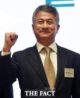 [TF포토] 파이팅 외치는 장세욱 동국제강 부회장