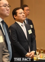 [TF포토] 2020년 철강업계 신년인사회 참석한 이주성 세아제강 부사장