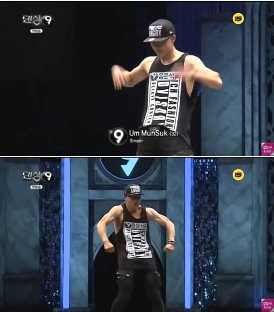 음문석은 Mnet 댄싱9에 출연해 남다른 춤실력을 자랑한 바 있다. /Mnet 댄싱9 캡처