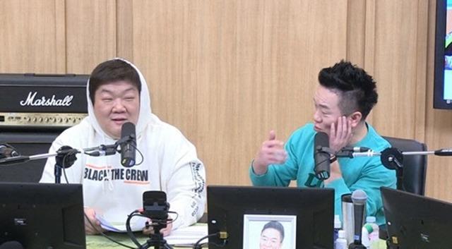 개그맨 유민상이 SBS 파워FM 두시탈출 컬투쇼에서 배우 김하영에게 미안하다고 밝혔다. / SBS 파워FM 두시탈출 컬투쇼 캡처
