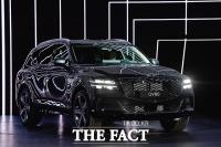 [TF사진관] '포인트는 두 줄'…제네시스, 국내 첫 럭셔리 SUV 'GV80' 공개