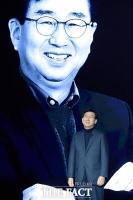 [TF포토] 'GV80 발표회' 인사말하는 이원희 현대차 사장