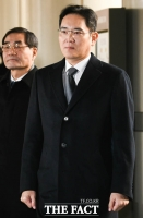 [TF포토] 파기환송심 4차 공판 출석하는 이재용