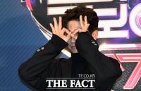 [TF포토] 유세윤, '끝도 없는 장난기'