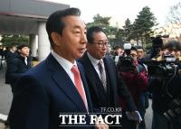 [TF포토] 1심 무죄 김성태, '담담한 표정'