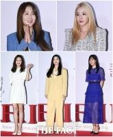 [TF사진관] '전성기 못지 않은 미모'...아이돌에서 여신으로 돌아온 다섯 요정