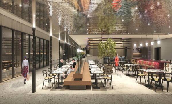 갤러리아는 내년 1분기 F&B 매장과 VIP시설을 집약한 고메이494를 오픈한다. /갤러리아 제공