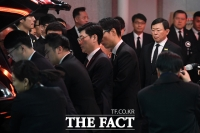 [TF포토] 고 신격호 회장 발인 참석한 신동빈 회장