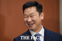 [TF포토] 미소짓는 곽상언 변호사