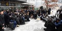 [TF포토] 조용병 회장, '채용비리 1심 집행유예 선고'