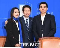 [TF포토] '태호 엄마' 이소현 씨, '아이들을 위한 정치'
