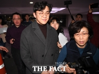 [TF포토] '미투 의혹은 모두 거짓'…기자회견 마친 원종건
