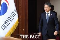 [TF포토] 긴급 회의 참석한 박능후 보건복지부 장관