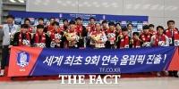 [TF포토] 'U-23 대표팀 파이팅!'