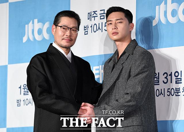 박서준은 JTBC 이태원 클라쓰에서 고등학생부터 성인이 될 때까지의 과정을 보여준다. /남용희 기자