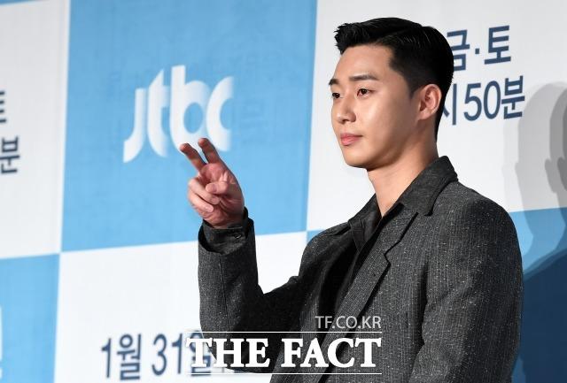 배우 박서준은 캐릭터의 서사에 끌려 JTBC 이태원 클라쓰 출연을 결정했다. /남용희 기자