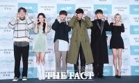 [TF포토] '얼굴 하트 통일'!...개성 넘치는 '나의 음악쌤, 밍글라바' 출연진