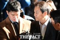 [TF사진관] '선거개입 의혹'…피의자 신분으로 출석한 임종석 전 비서실장
