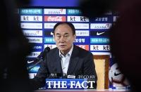 [TF사진관] 'AFC U-23 첫 우승' 일군 김학범 감독의 기자회견